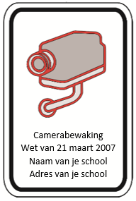 Pictogram camerabewaking